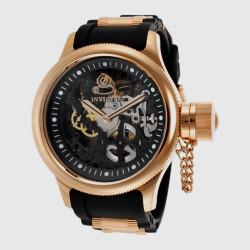 ساعة انفيكتا رشان دايفر اتوماتيكية للرجال بسوار من السليكون – INVICTA-17267